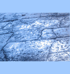 abstract background road in cracks in blue vector image