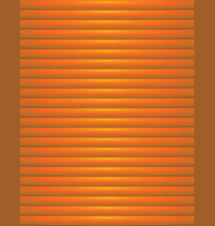 Abstract orange ribbed background vector