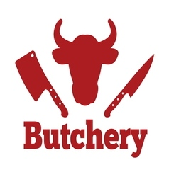 Butchery4 vector image