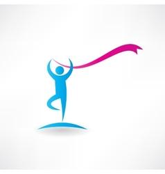 free callisthenics icon vector image