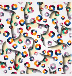 geometric badges set trendy minimal design eps10 vector image