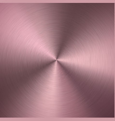 rose gold metallic radial gradient with scratches vector image