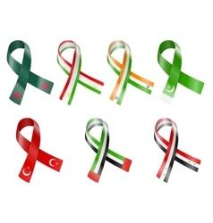 Flag Ribbon vector image vector image