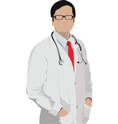 doctor vector image