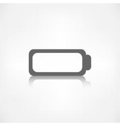 Battery icon Accumulator symbol vector image