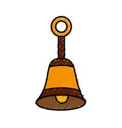 bell icon image vector image