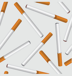 Cigarette smoke seamless background smoking area vector