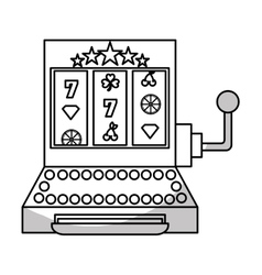 gambling games design vector image