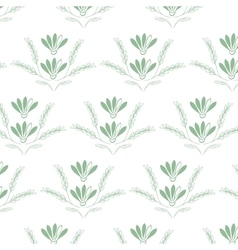 Linear art nature pattern background vector image