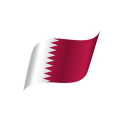 qatar flag vector image