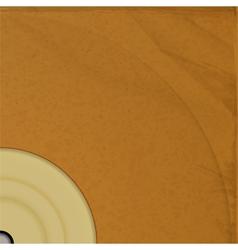 retro vinyl lp background vector image