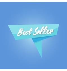 best seller blue sale Tag vector image