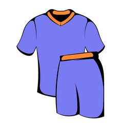 sport uniform icon icon cartoon vector image vector image