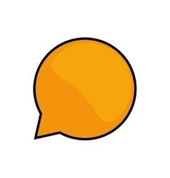 Bubble icon Communication concept graphic vector