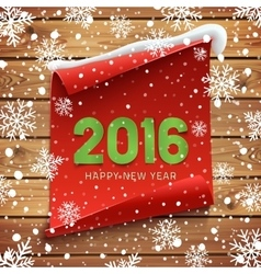 Happy New Year 2016 background vector