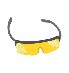 Sport glasses vector