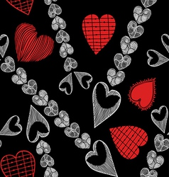 Valentine Day and Love theme background vector image