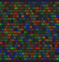 vivid circles bright seamless pattern vector image