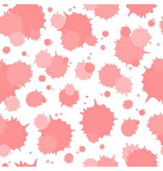 Seamless pattern of blots vector image