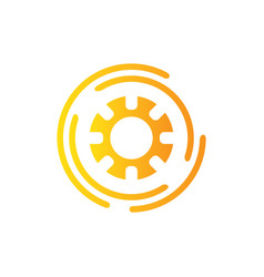 Abstract flow logo template design logo vector