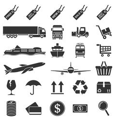 e commerce icons vector image