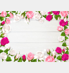 mothers day frame vector image