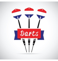 Netherlands darts vector