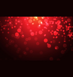 red bokeh blur on night luxury background vector image