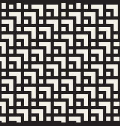 seamless geometric pattern contemporary tiles vector image
