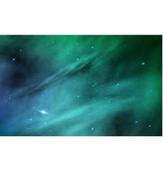 space background cosmos realistic backdrop color vector image