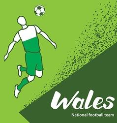 Wales 4 vector