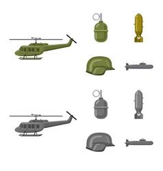 Weapon and gun logo vector