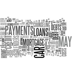 what you need to know about auto and home loans vector image vector image