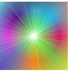 abstract dynamic gradient star burst background vector image