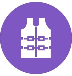 Bullet Proof Vest vector image