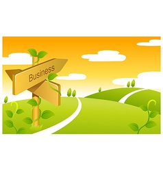 Business Sign boards vector