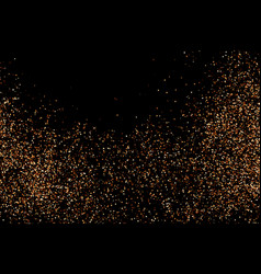 chocolate shades confetti vector image