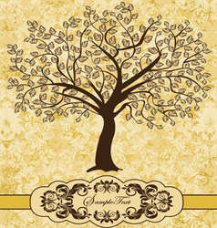 Family Reunion Invitation Card vector image