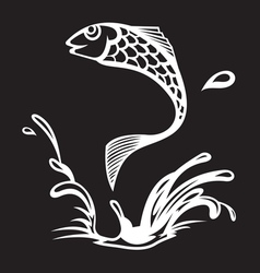 Fish3 resize vector image vector image
