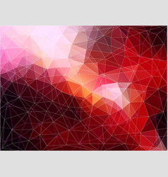 Flat abstract polygonal banner ackground vector