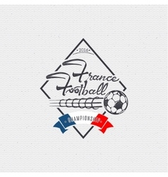 Footbal 2016 - badge sticker can be used to vector image