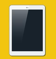 The tablet in ploskjv style vector