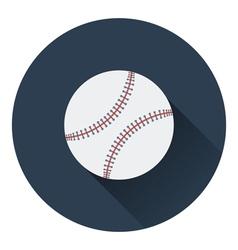Baseball ball icon vector image vector image