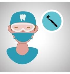Dental care design health concept medical care vector image