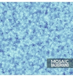 Abstract blue voronoi mosaic wallpaper texture in vector image vector image