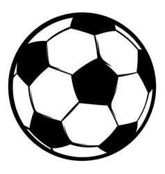 football ball icon icon cartoon vector image vector image