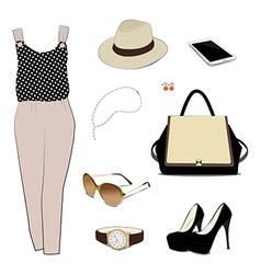 Costume for women vector image