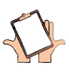 writing board vector image vector image