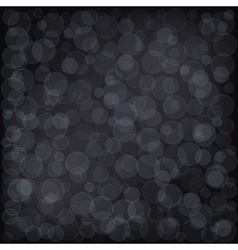 Bokeh Dark Background vector image