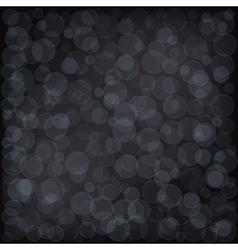 Bokeh dark background vector